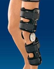 Ортез с биомеханическими шарнирами для регулируемой фиксации коленного сустава Orlett HKS-375