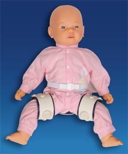 Детская отводящая шина-распорка при дисплазии тазобедренных суставов Orlett EBS-106 HAPPY HIP