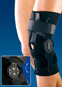 Ортез для регулируемой фиксации коленного сустава полуразъёмный Orlett Stabilline RKN-381