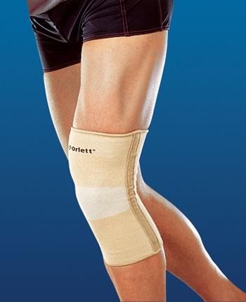 Бандаж на коленный сустав с рёбрами жесткости COOLMAX Orlett MKN-103(M)