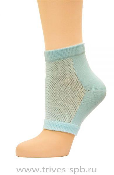 Тканевый носок с силиконом, пара, Тривес СТ-70