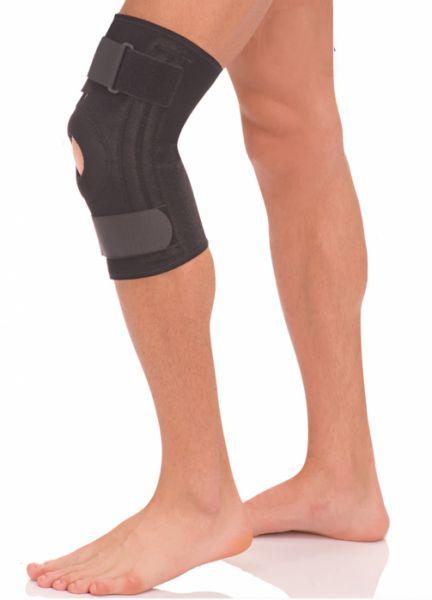 Бандаж на коленный сустав с пластинами, материал Coolmax, Тривес Т-8512