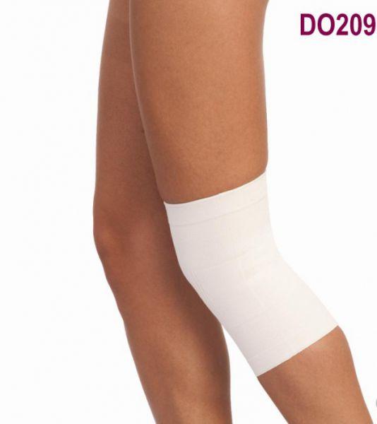 Бандаж эластичный на коленный сустав бежевого цвета DO209