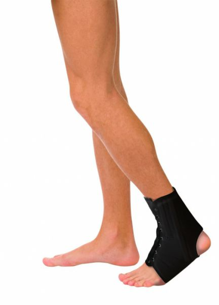 Бандаж на голеностопный сустав с пружинами на шнуровке Тривес Т-8608