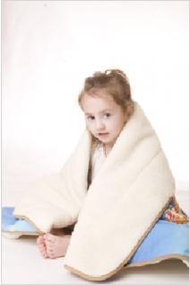 Одеяло стёганое мериносовое утеплённое 90x120 см ОД0052