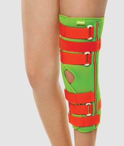 Детский ортез (тутор) на коленный сустав разъёмный Orlett RKN-203(P)