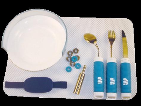 Набор специализированных столовых приборов для людей с ограниченными возможностями Тривес Р-001