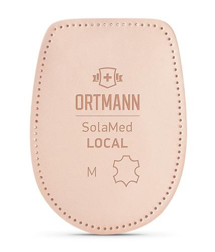 Подпяточники ортопедические при пяточной шпоре Ortmann SolaMed LOCAL