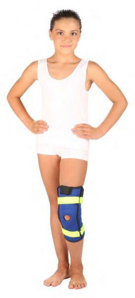 Детский бандаж на коленный сустав с ребрами жесткости Тривес Т-8530