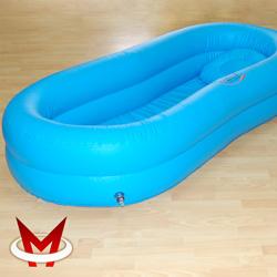 Надувная ванна для мытья тела человека на кровати CA204MV