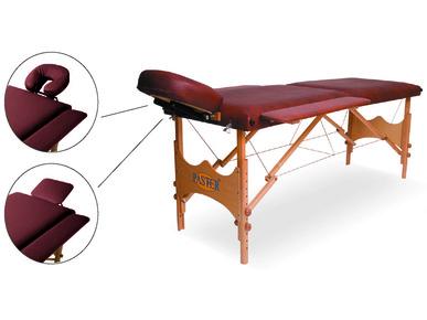 Стол массажный портативный складной с чехлом для переноски и подлокотниками СМПС №1, арт.044304