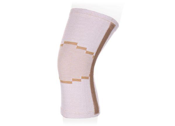 Бандаж компрессионный на коленный сустав с рёбрами жёсткости Ttoman KS-E02