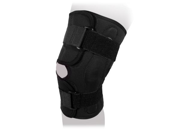 Ортез на коленный сустав сильной фиксации разъёмный Ttoman KS-050