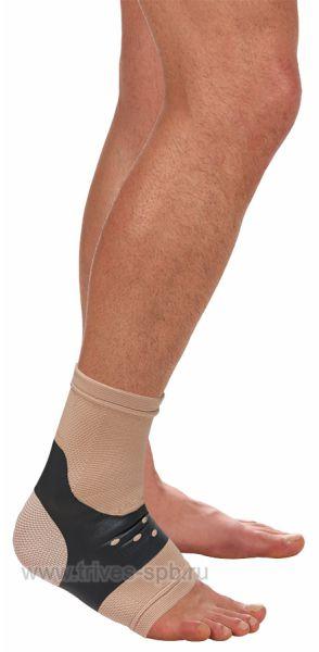 Бандаж на голеностопный сустав с усиливающими лентами Тривес Т-8621