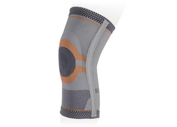 Бандаж на коленный сустав эластичный с рёбрами жёсткости Ttoman KS-E03