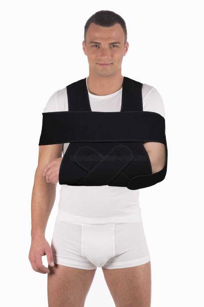Как одеть бандаж фиксирующий на плечевой сустав физиолечение при болезни суставов