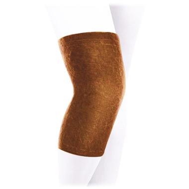 Бандаж на коленный сустав согревающий из верблюжьей шерсти Экотен ККС-Т4